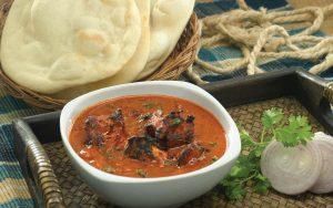 Delicious Delights Chicken Tikka Masala Tandoori Naan