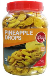 Delicious Delights Pineapple Drops