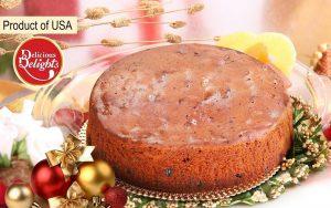 Delicious Delights Plum Magic Cake