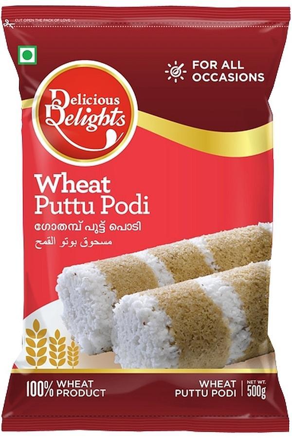 Delicious Delights Wheat Puttu Podi