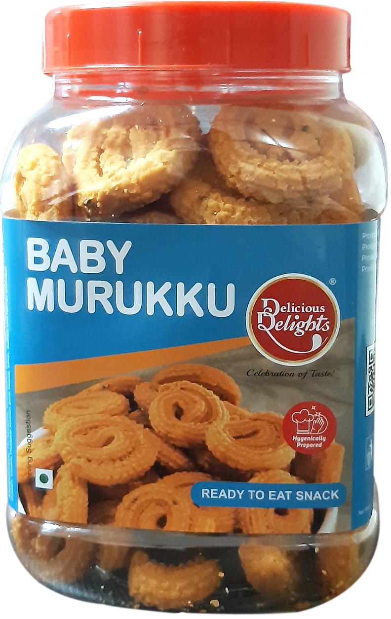 Delicious Delights Baby Murukku