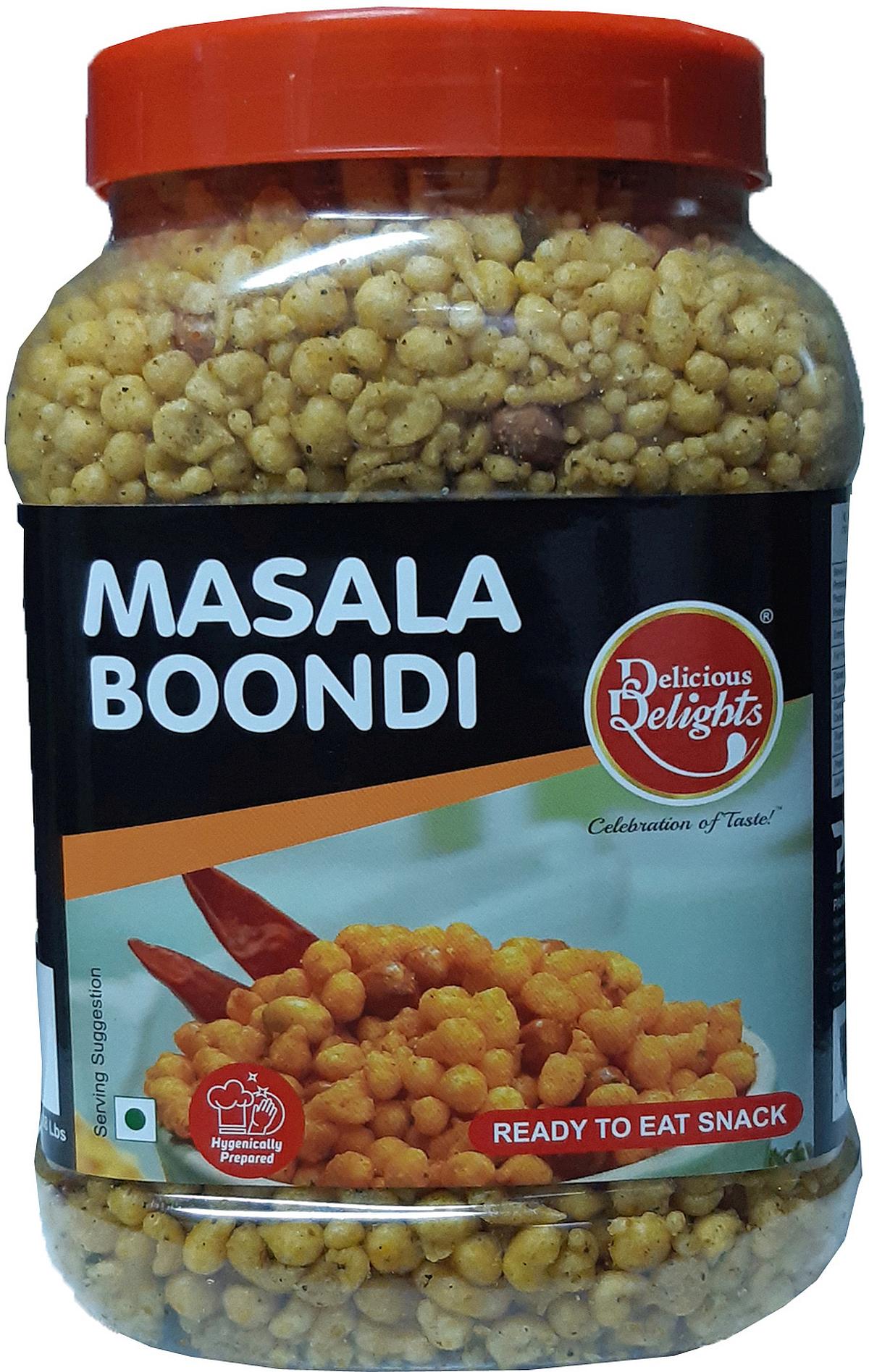 Delicious Delights Boondi Masala