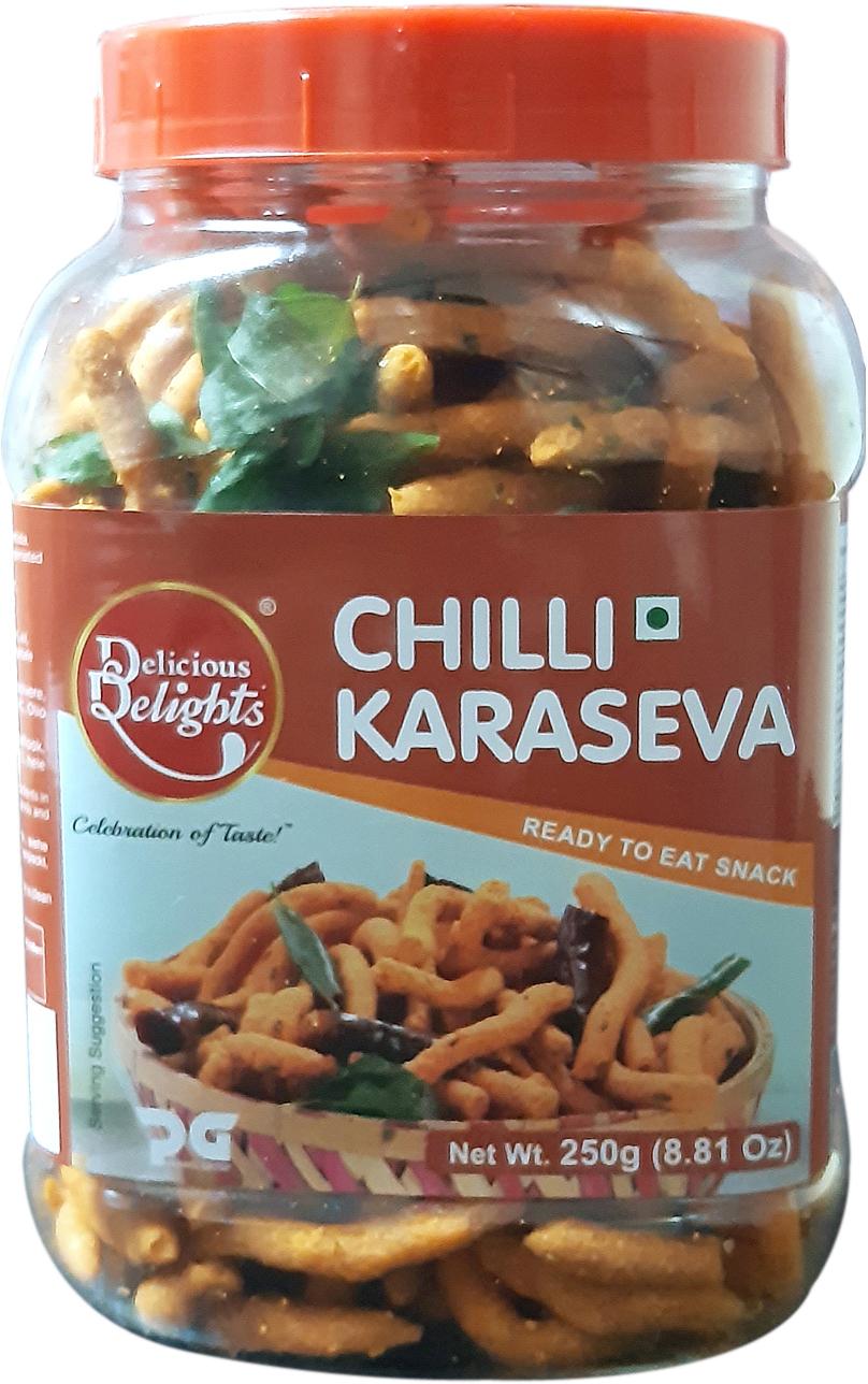 Delicious Delights Chilli Karaseva