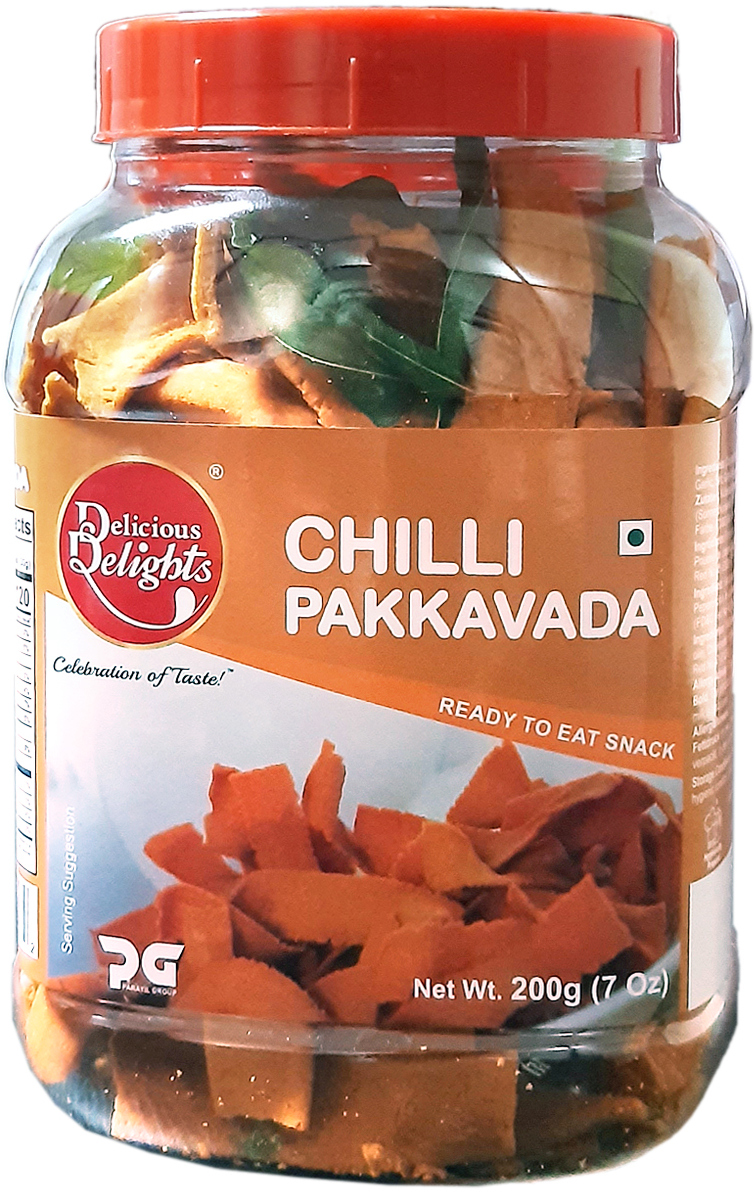 Delicious Delights Chilli Pakkavada