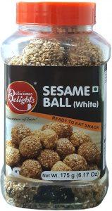 Delicious Delights Sesame Ball White